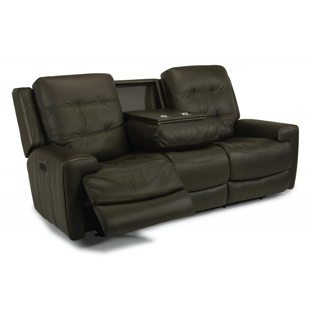 Wicklow Power Reclining Sofa with Power Headrests