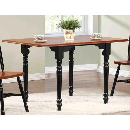 Drop Leaf Dining Set w/Arrowback Chairs (3 Piece)