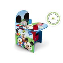 Mickey Mouse Chair Desk with Storage Bin - Mickey (1051)