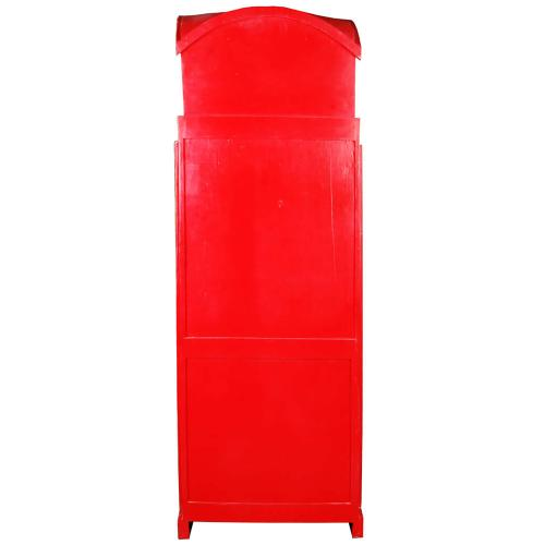 Product Image - English Phone Booth Cabinet - Red