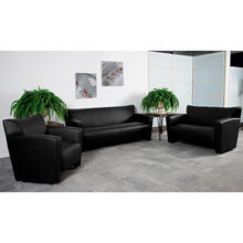 Product Image - HERCULES Majesty Series Reception Set in Black LeatherSoft