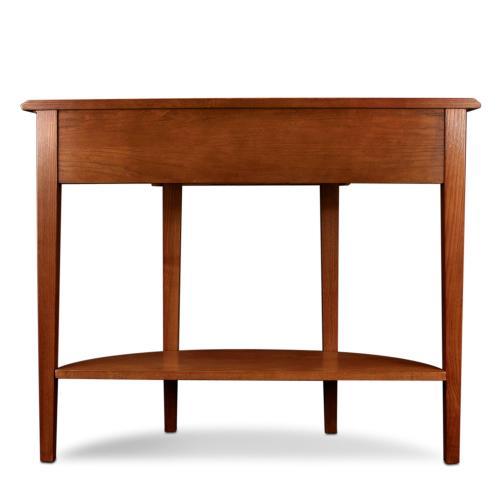 Leick Furniture Inc - Demilune Console #9036-MED