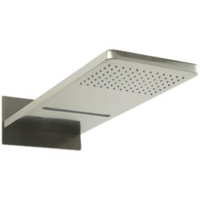 Kascade Dual Function Shower Head Trim Kit Brushed Nickel