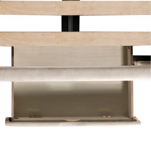 Elements - Harper Queen Upholstered Storage Bed