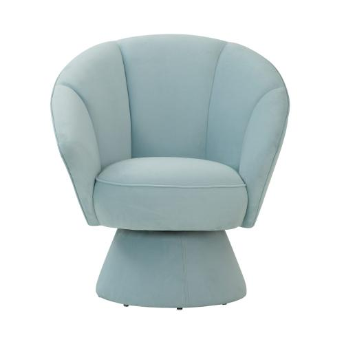 Allora Light Blue Accent Chair