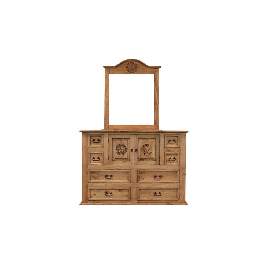 See Details - Mansion Dresser W/Star