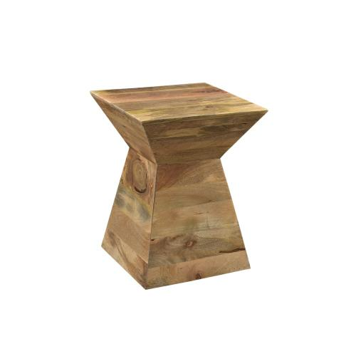 Bengal Manor Wood Shaped Accent Table