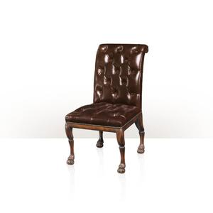 Theodore Alexander - Lion Club Chair, Rodanthe - Button Upholstered