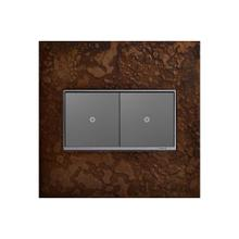 See Details - Legrand Hubbardton Forge 2 Gang Wall Plate