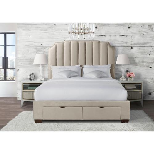Gallery - Harper King Upholstered Storage Bed