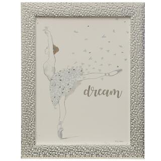 Dream  Made in USA  Juvenile Dancer Collection Wall Art  Framed Print Under Glass