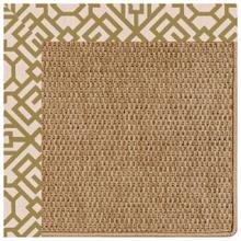 "Islamorada-Basketweave Lattice Pesto - Misc. - 12"" x 12"""