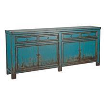 See Details - Libbit 4Dwr 4Dr Sideboard Antique Blue