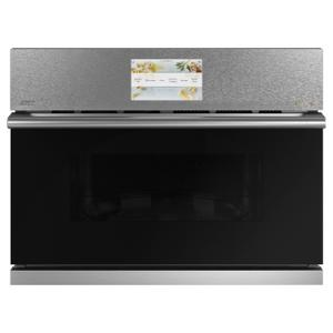 "Cafe Appliances27"" Smart Five in One Oven with 120V Advantium® Technology in Platinum Glass"