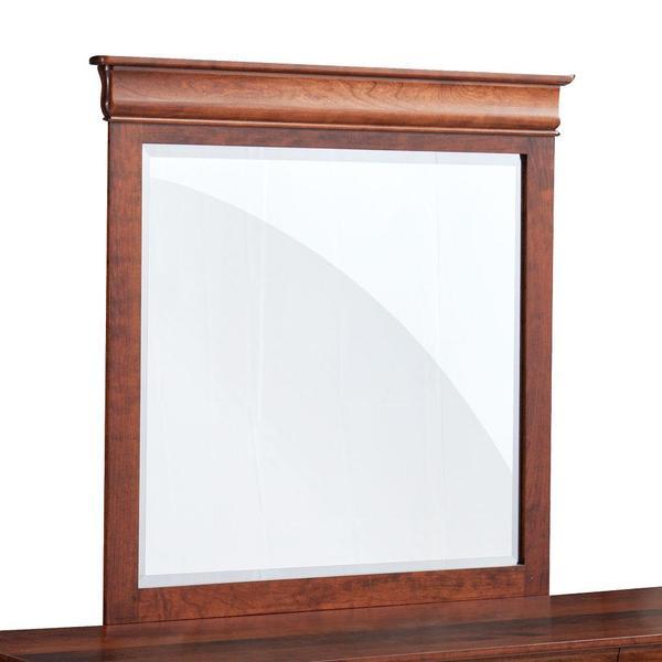 See Details - Louis Philippe Dresser Mirror, 50'w x 41'h