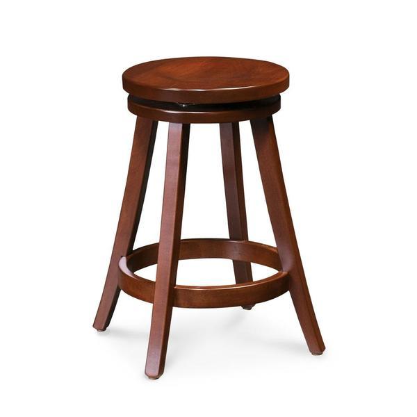 "See Details - Portland Swivel Barstool, 30"" Seat Height / Fabric Cushion Seat"
