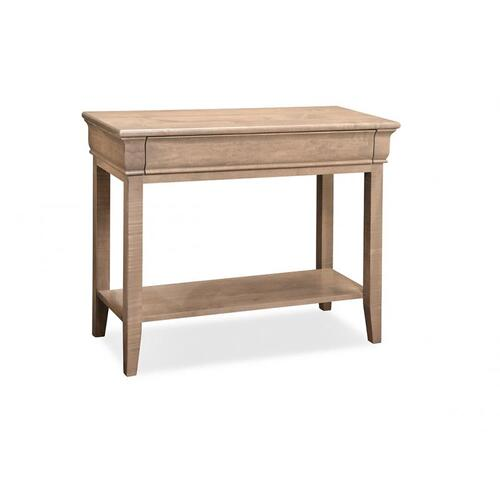 Monticello Sofa Table with Shelf and 1 Drawers
