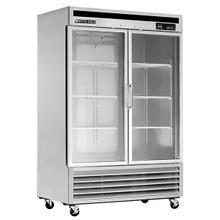 MXCR-49GD Reach-In Refrigerator, Glass Door, Bottom Mount