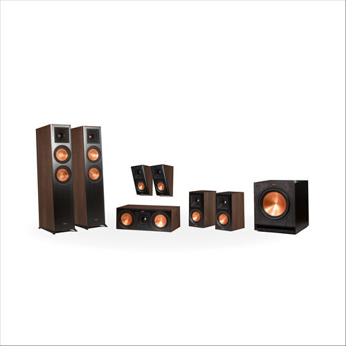 Klipsch - RP-6000F 7.1 Home Theater System - Walnut