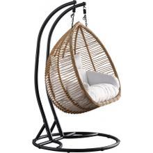 "See Details - Tarzan Outdoor Patio Swing Chair - 53.5"" W x 29.5"" D x 77"" H"