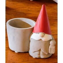 Santa Gnome w/ Planter - Set of 1