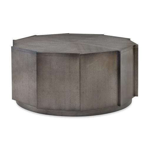 Decagonal Cocktail Table - Cognac