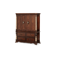 View Product - Media Cabinet w/Middle Component