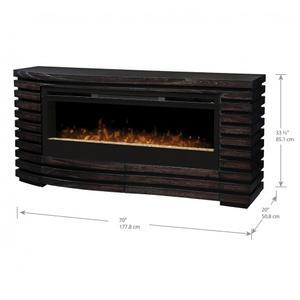 Elliot Mantel Electric Fireplace