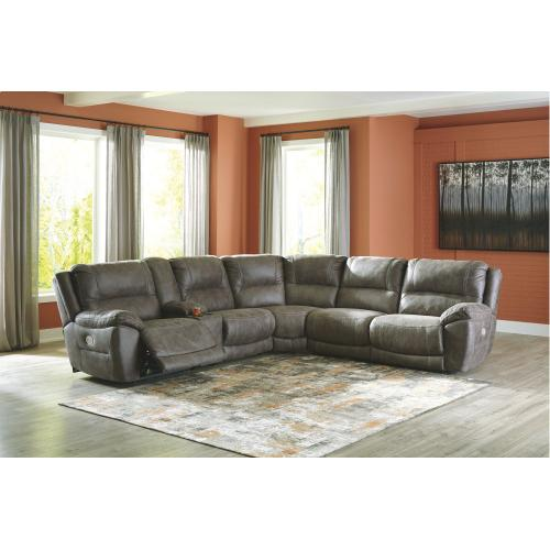 5-piece Sectional With Recliner