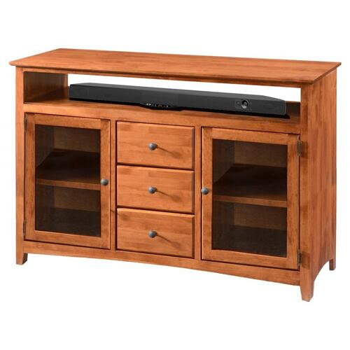 "TV Console 54"" Flush Top Tall"