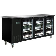 MXBB90G Back Bar Coolers, Glass Door