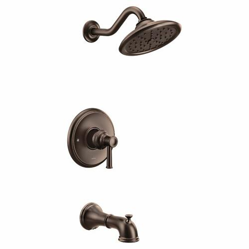 Belfield oil rubbed bronze m-core 3-series tub/shower