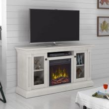 """View Product - Twin Star Home® TV Stand for TVs up to 60"""" with ClassicFlame® Electric Fireplace"""