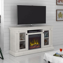 "Twin Star Home Foxmoor TV Stand for TVs up to 60"" with ClassicFlame® Electric Fireplace"
