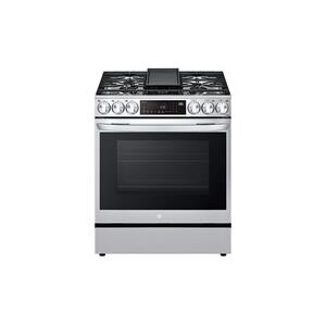 6.3 cu ft. Smart wi-fi Enabled ProBake Convection® InstaView® Gas Slide-In Range with Air Fry Product Image