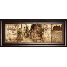 """Tuscany"" By Keith Mallet Framed Print Wall Art"