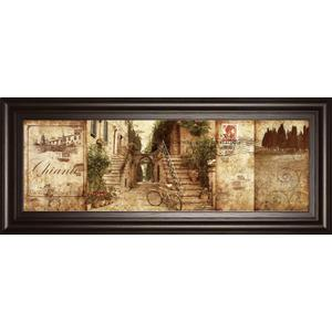 """""""Tuscany"""" By Keith Mallet Framed Print Wall Art"""