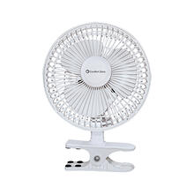 CZ6C 6-inch Clip-On Desk Fan, White