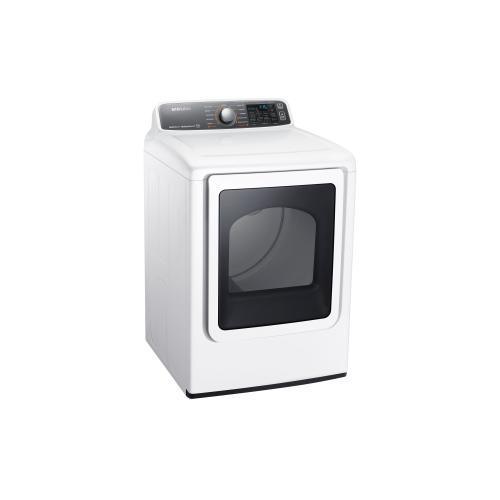 Samsung Canada - DV48J7770EW Electric Front-Load Dryer, 7.4 cu.ft