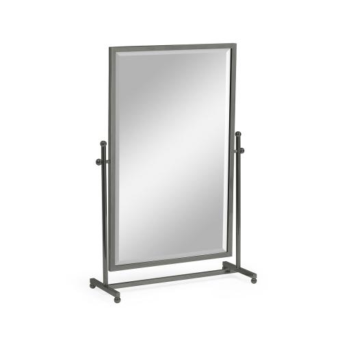 Tilt Bronzed Stainless Steel Dressing Table Mirror