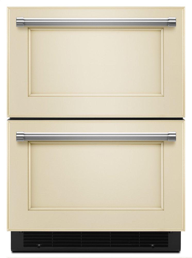 "Kitchenaid24"" Panel Ready Double Refrigerator Drawer - Panel Ready Pa"