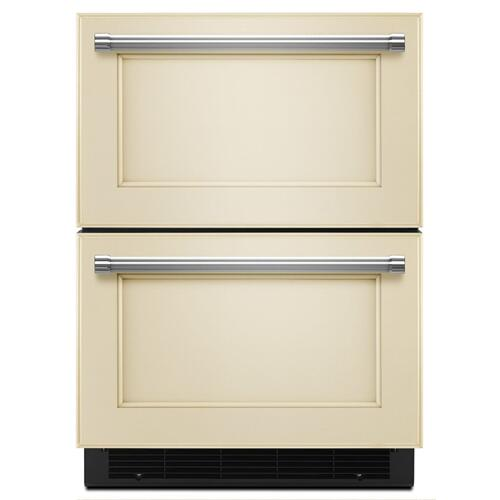 "24"" Panel Ready Double Refrigerator Drawer - Panel Ready PA"