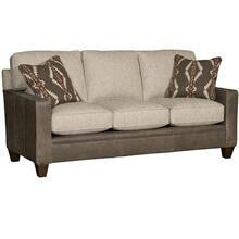 See Details - Cory Leather/Fabric Sofa