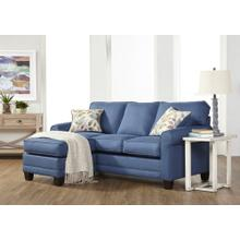 Sofa Chaise - Jitterbug Denim