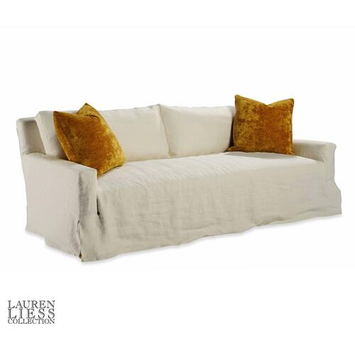 Taylor King - Lady Slipcovered Mini Sofa