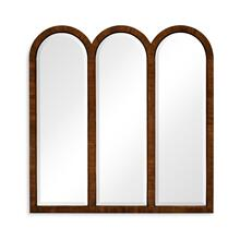 See Details - Triple mirror frame (Mahogany)