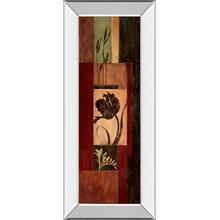 """Tulip Shadow "" By Maria Donovan Mirror Framed Print Wall Art"