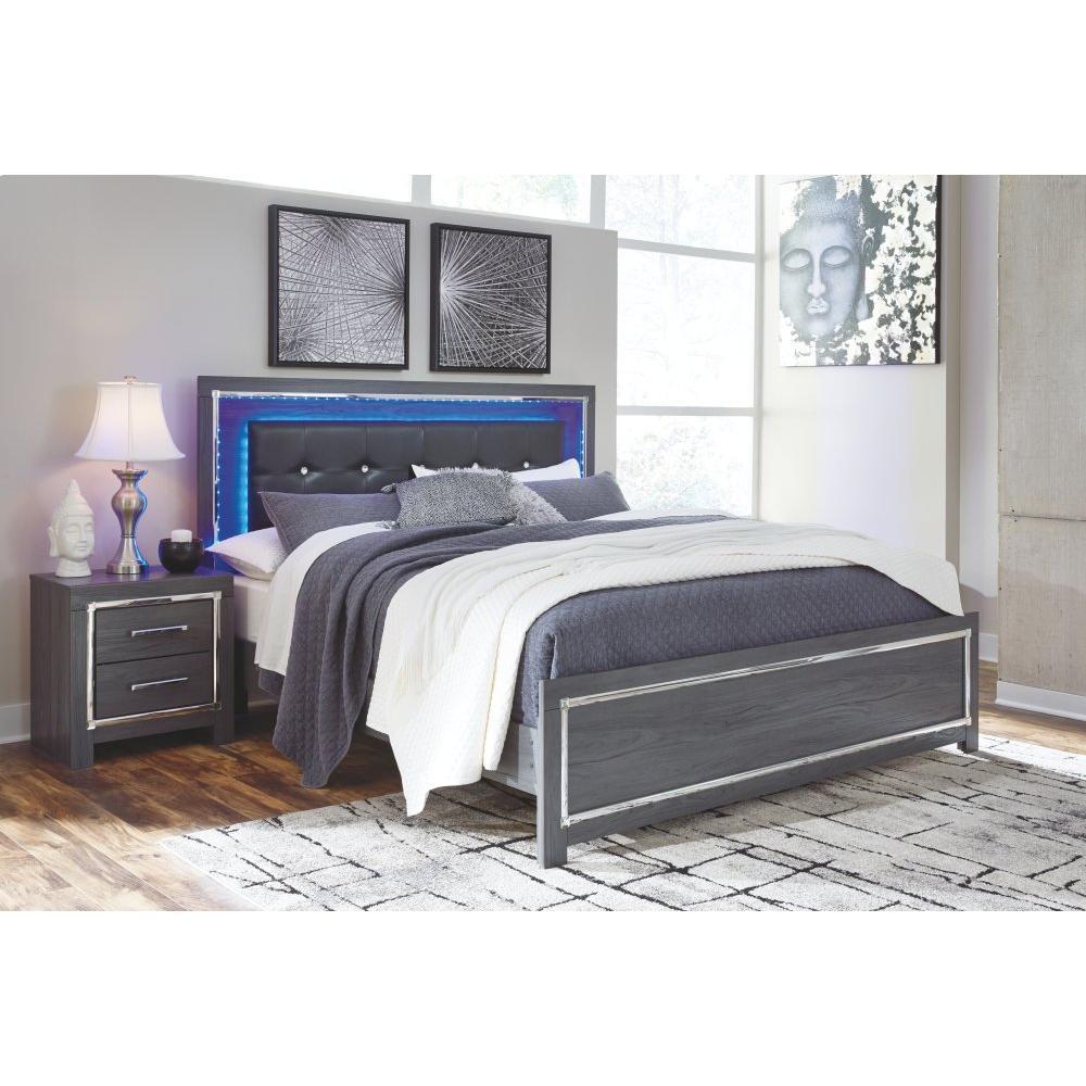 Lodanna King Panel Bed