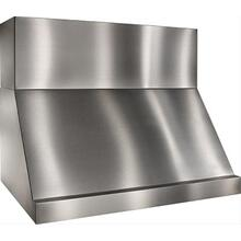 """60"""" Stainless Steel Range Hood with Internal and External Blower Options"""