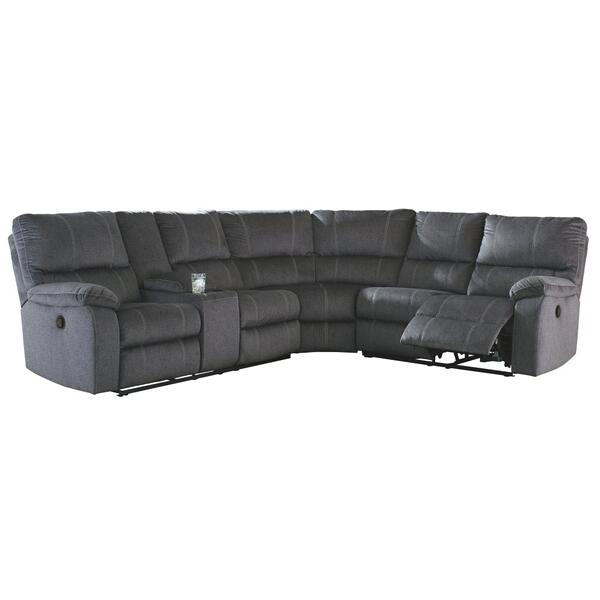 See Details - Urbino 3-piece Reclining Sectional